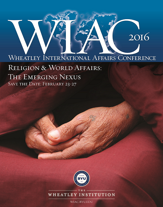 WIAC 2016, Religion & World Affairs: The Emerging Nexus